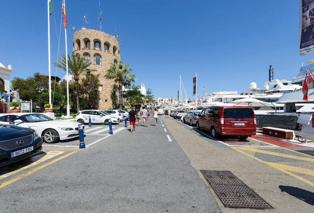 Maritieme Promenade van Puerto Banús (Marbella)