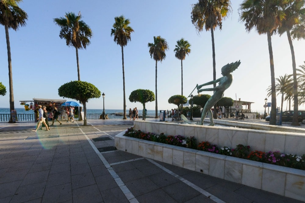 Paseo Marítimo (Promenade) in Marbella