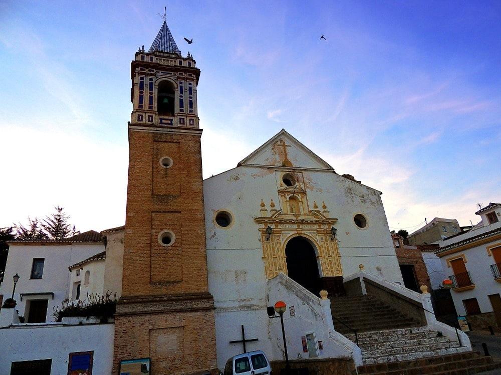 Iglesia de Nuestra Señora de los Remedios en Ardales - foto de propiedad de Sebastián Aguilar