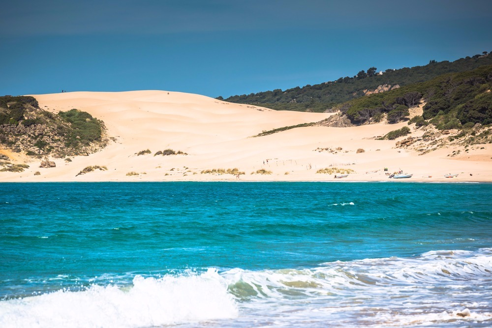 Playa de Bolonia en Tarifa - mejores playas de Andalucía