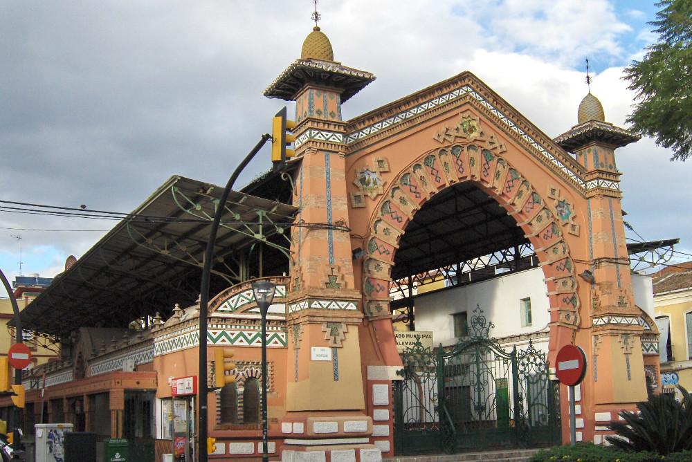 Mercado de Salamanca en Málaga