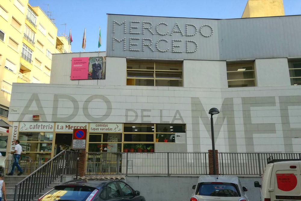 Mercado de la Merced en Málaga