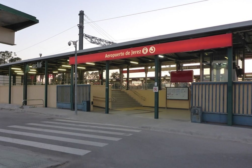 Apeadero del aeropuerto de Jerez - Wikipedia