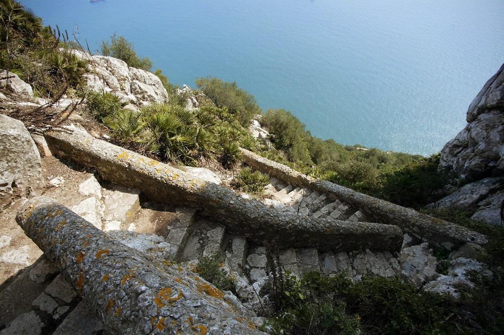 Mediterranean Steps en Gibraltar