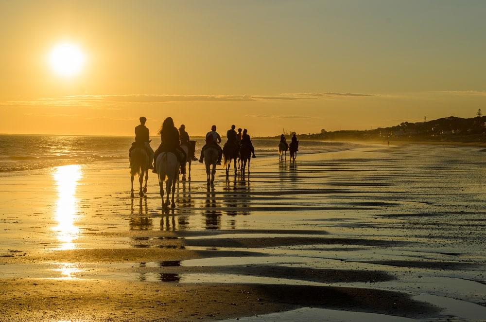 Paseos a caballo en la Costa de la Luz