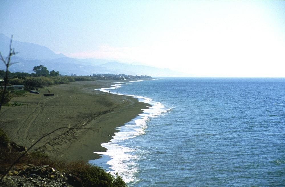 Playa nudista de Almayate (Málaga)