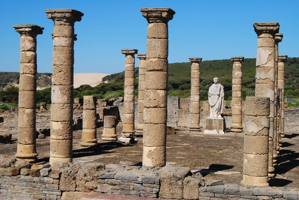 Ruins of Baelo Claudia in Tarifa