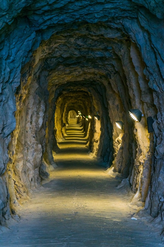 Túneles de Great Siege en Gibraltar