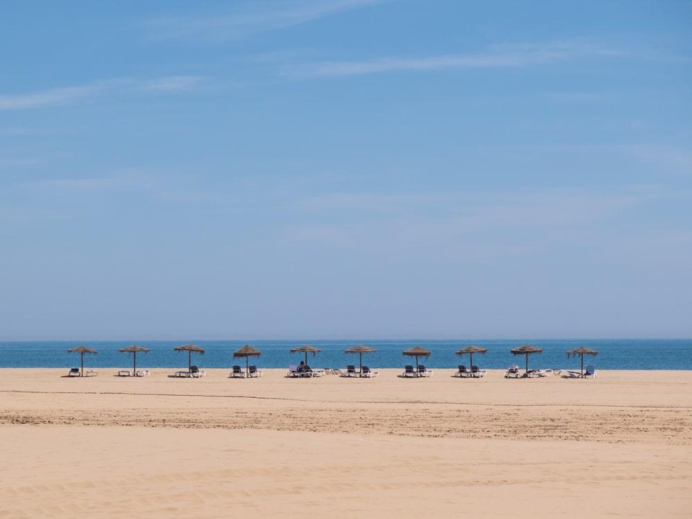 Toma el sol en las playas de la Costa de la Luz