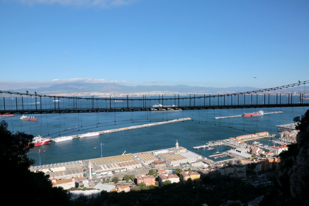 Windsor Bridge en Gibraltar