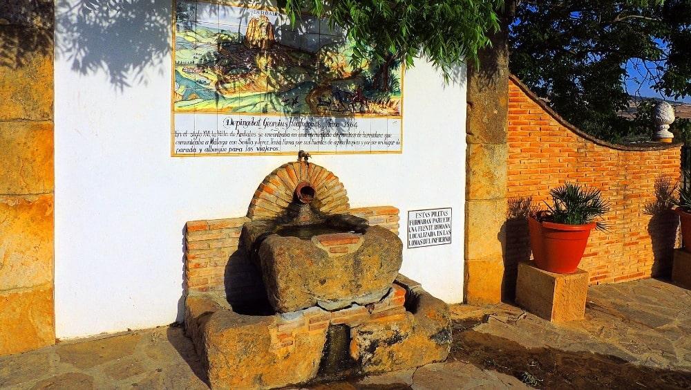 Brunnen in Ardales