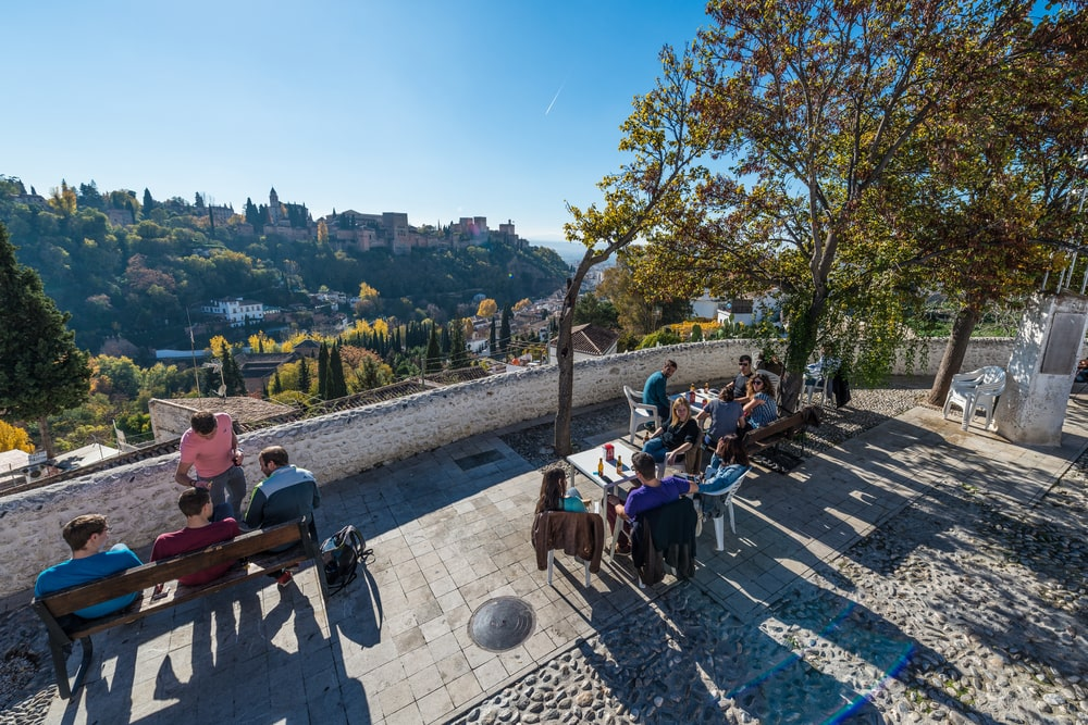 Visit Granada in April - Mirador de San Nicolás