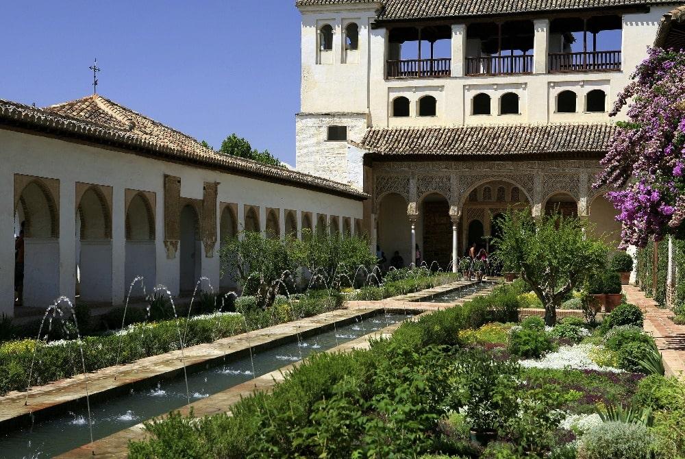 Maart in Granada - Het Alhambra