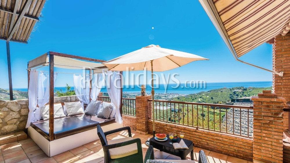 Casa de vacaciones en las colinas de la Costa del Sol en Torrox - MAL1287