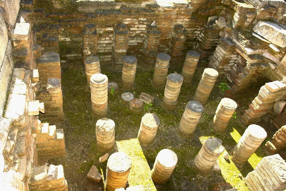 Archeologische site van Finca del Secretario in Fuengirola (stadhuis van Fuengirola)