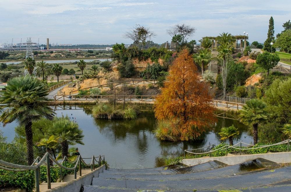 Botanisch park José Celestino Mutis in Palos de la Frontera