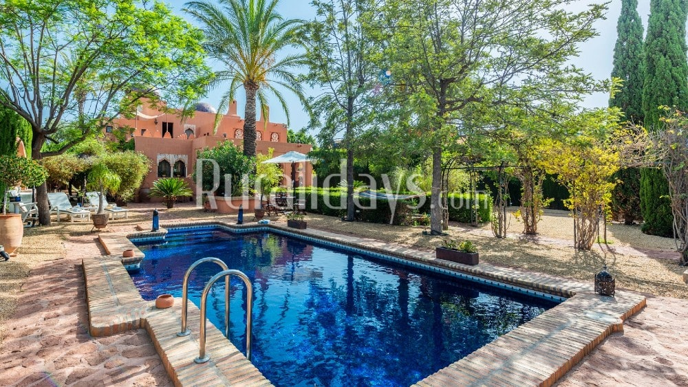 Luxury villa with Mudejar decor in Vera - ALM2290