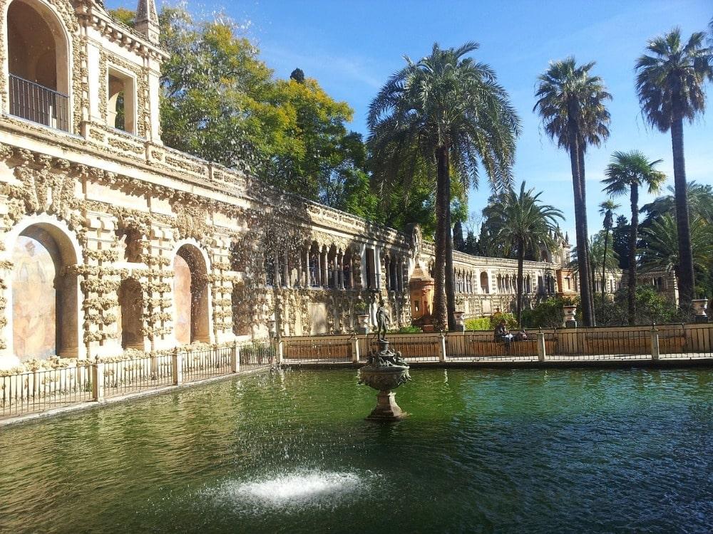 Maart in Sevilla - het Real Alcázar