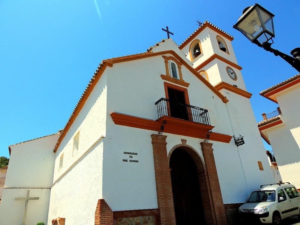 Parochiekerk van San Miguel Arcángel in Guaro