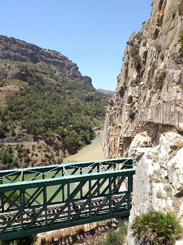 Caminito del Rey - Malaga im September