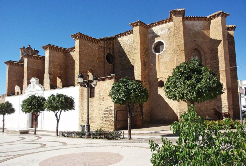 Le monastère de Santa Clara à Moguer
