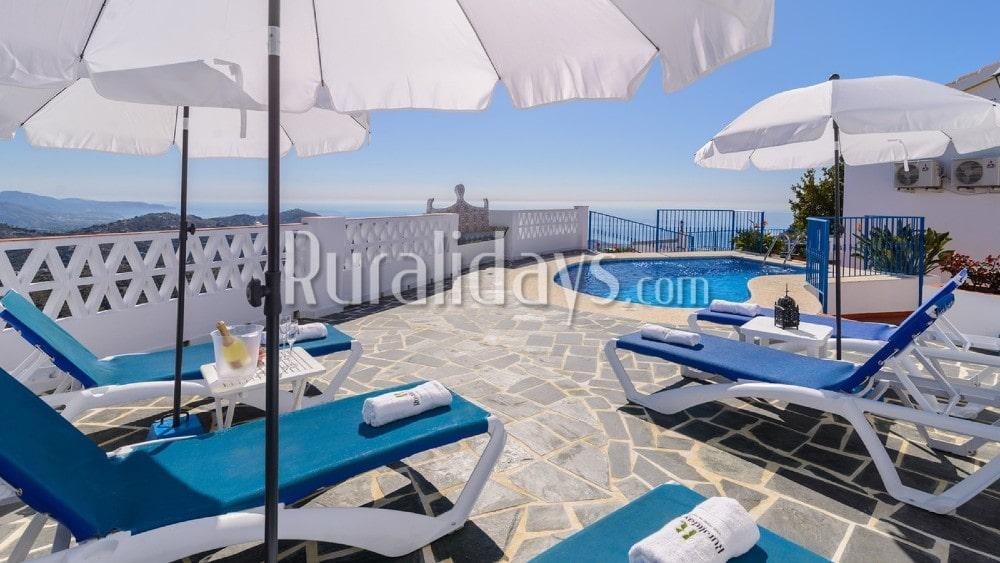 Maison de vacances dans les montagnes de la Costa del Sol à Torrox - MAL1277