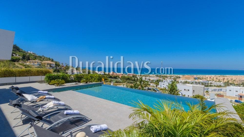 Splendide villa de luxe face à l'océan Atlantique à Zahara de los Atunes - CAD1489