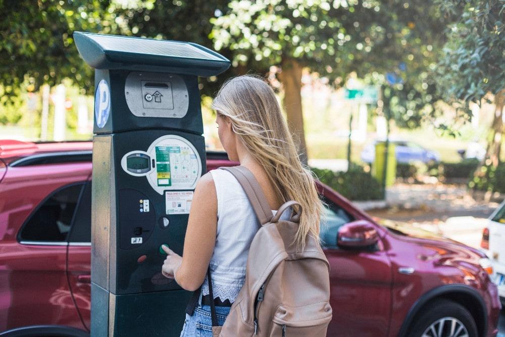 Zahlen Sie an den Automaten in Malaga