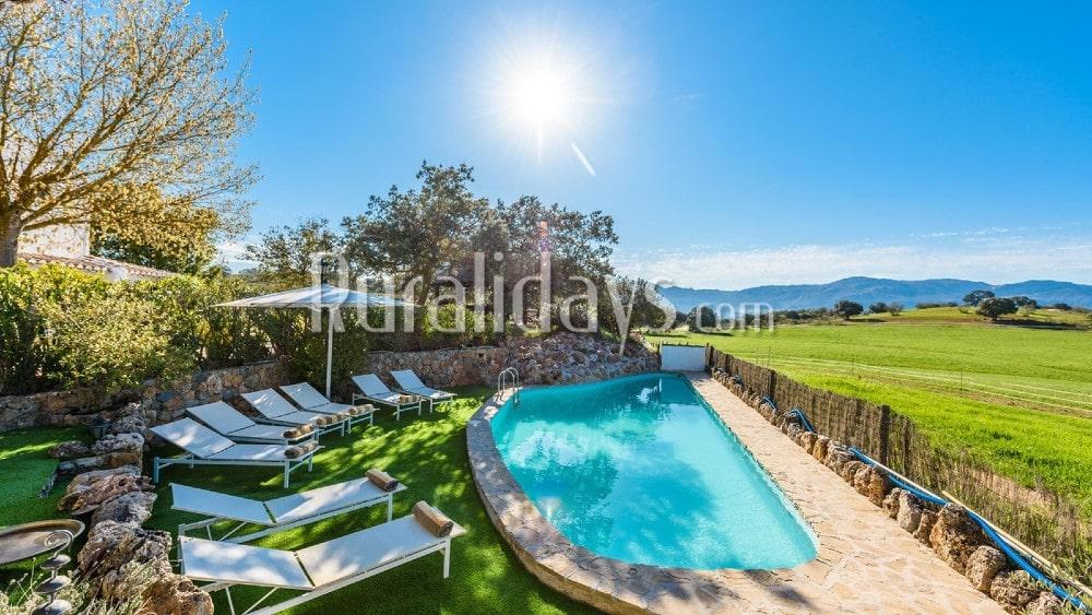 Abgelegene Villa für Ferien in totaler Privatsphäre in Villanueva del Rosario - MAL2071