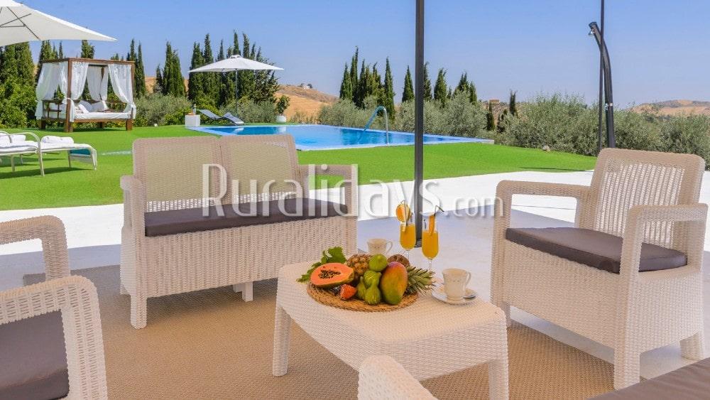 Villa mit Privatsphäre und toller Aussicht in Antequera - La Higuera - MAL2119