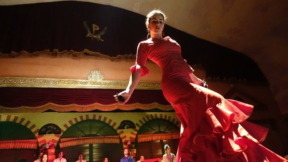 Der Juni in Sevilla  - Flamenco-Vorstellung