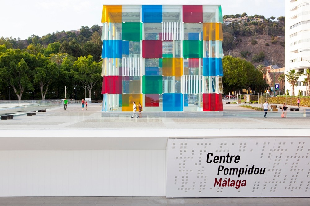 El Museo Pompidou en Málaga ciudad