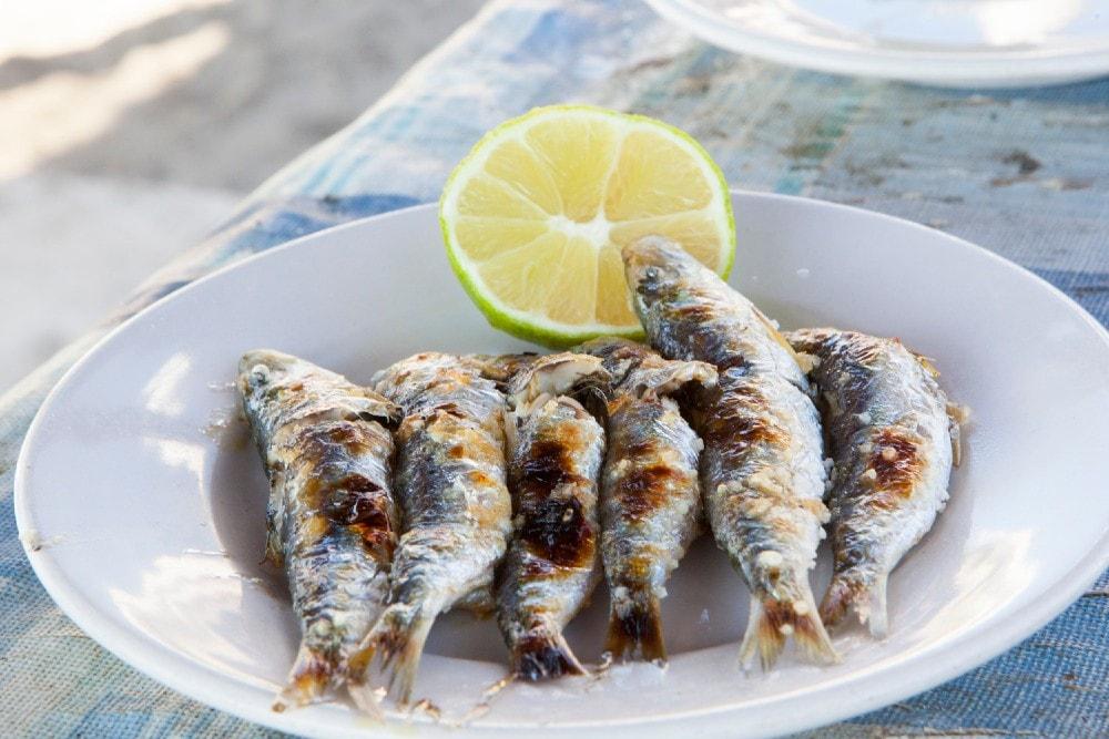 Espetos de Sardinas - Gastronomía de Málaga ciudad