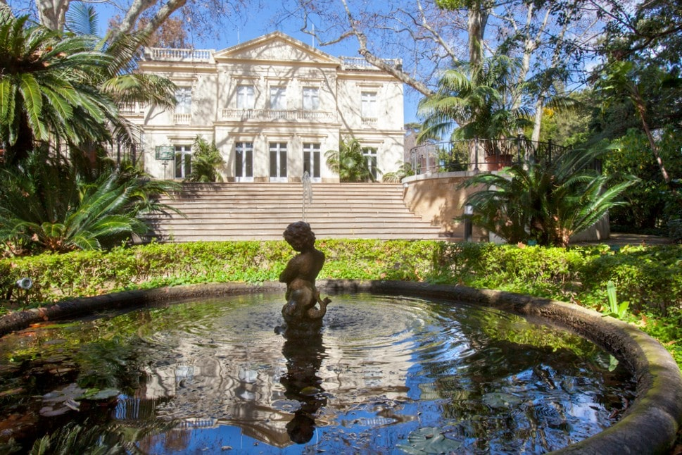 Jardín Botánico de la Concepción en Málaga capital
