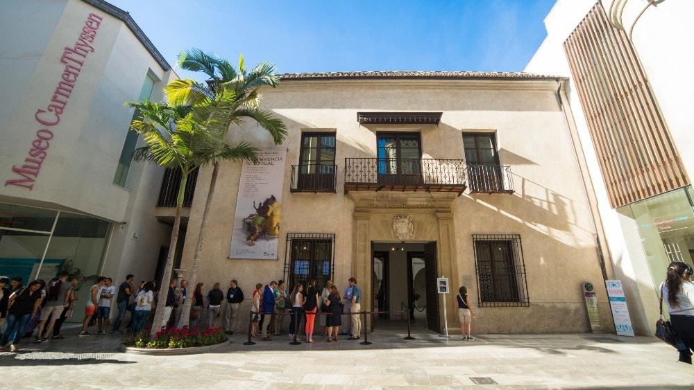 Museo Carmen Thyssen en Málaga capital