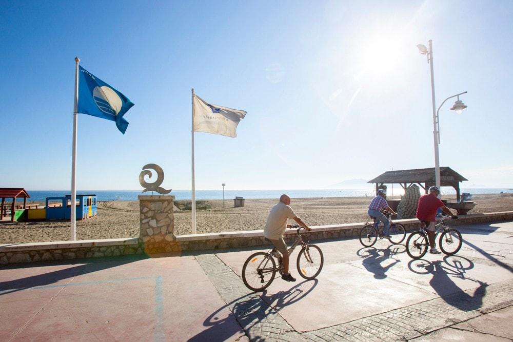 Paseo Marítimo de El Palo en Málaga ciudad