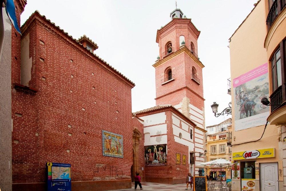 Santos Mártires church in Malaga city