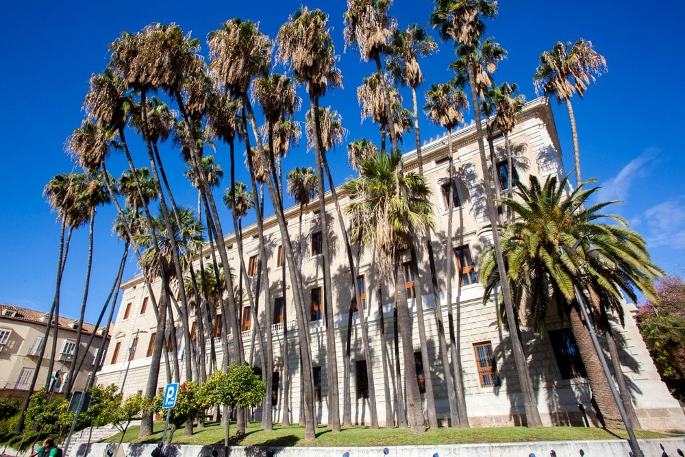 Palacio de la Aduana à Malaga